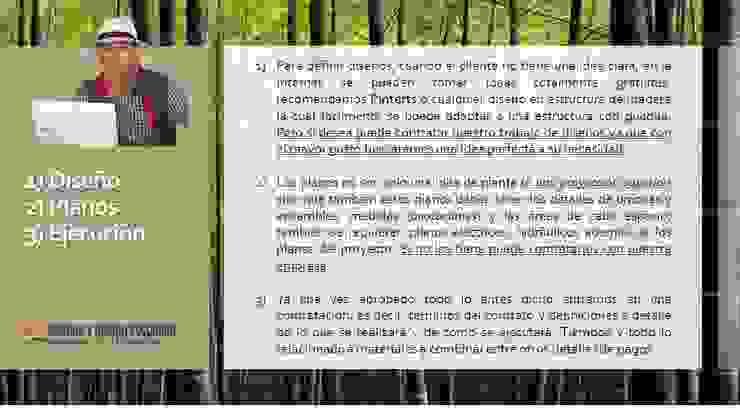 INTRODUCCION de GUADUA Y BAMBU COLOMBIA Rural