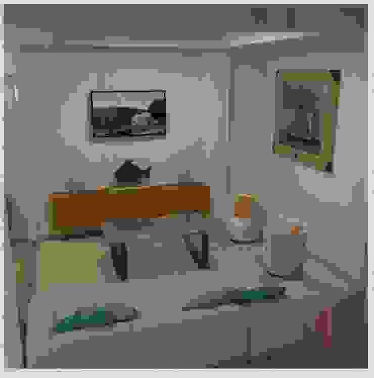 Sala de la casa de IQUPA Minimalista
