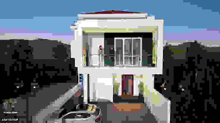 Rumah kontemporer Oleh Ara Sipil dan Arsitektur