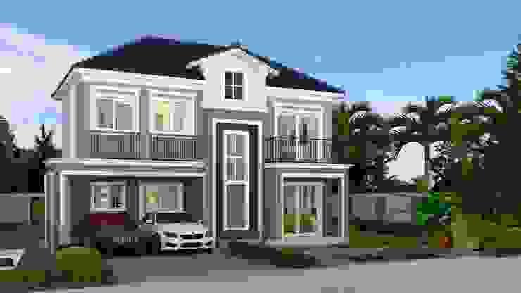แบบบ้านP6012 บริษัท สยาม เอ็มที แอสเซท จำกัด บ้านเดี่ยว