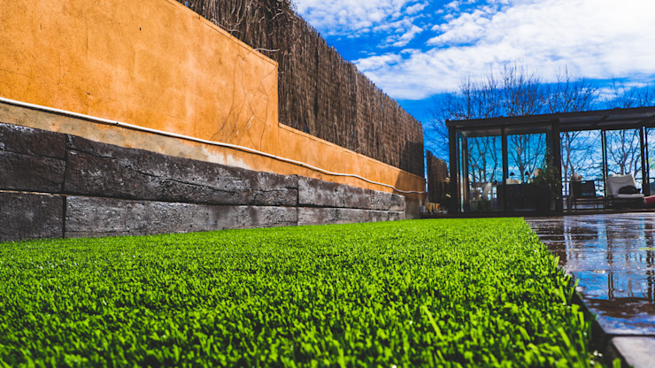 No Solo Césped | Construcción de Jardines y Mantenimiento Deportivo Передний двор Дерево Зеленый
