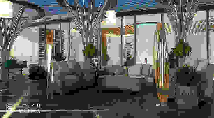 تصميم تراس في بنتهاوس فاخر من Algedra Interior Design حداثي