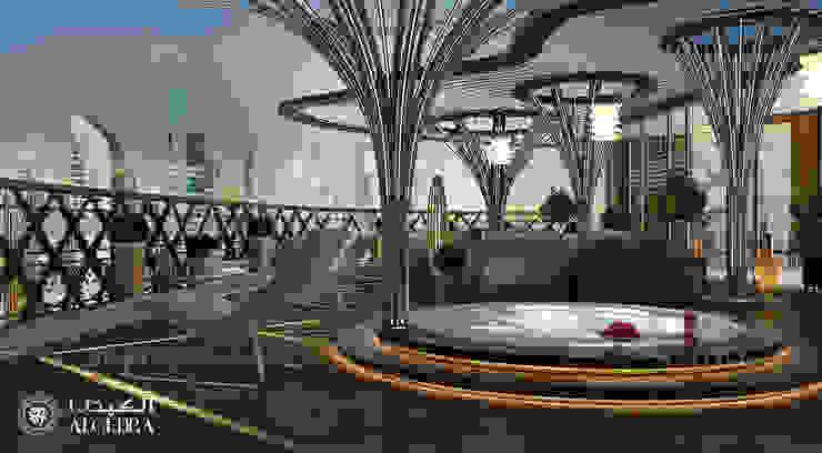 تصميم حمام سباحة في بنتهاوس فاخر من Algedra Interior Design حداثي