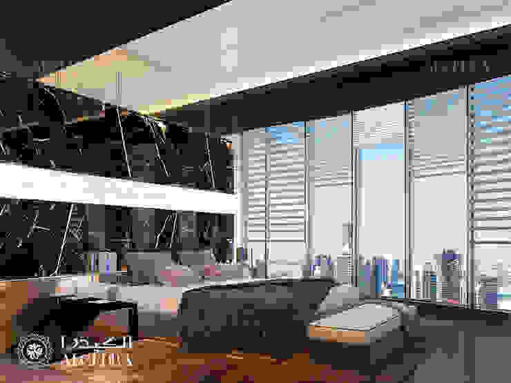 تصميم غرفة نوم في بنتهاوس فاخر بدبي من Algedra Interior Design حداثي