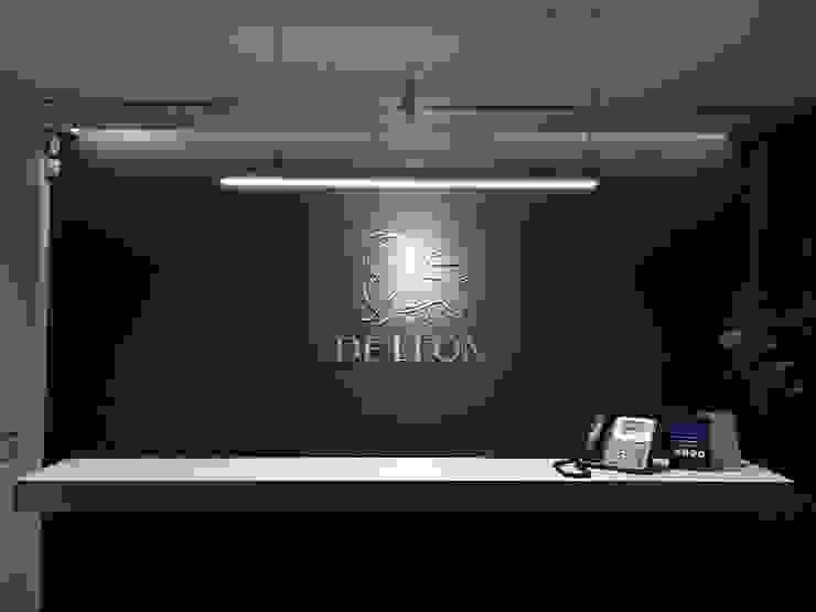 DE LEON PRO Kantor & Toko Modern Aluminium/Seng Grey