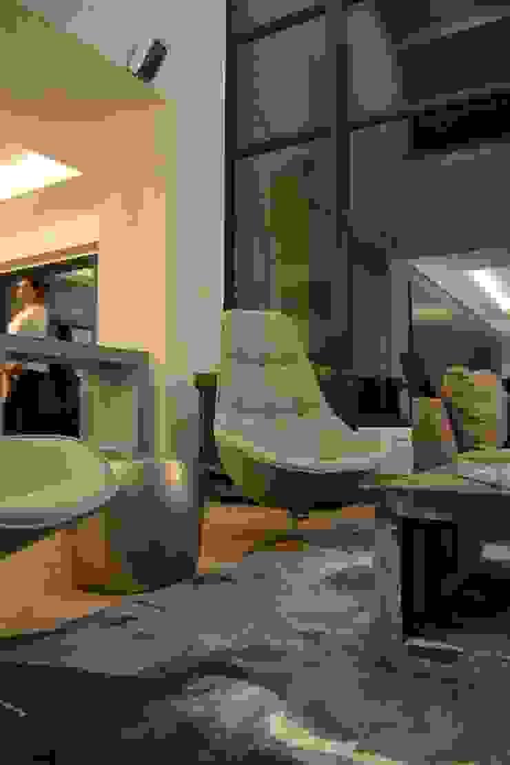 Casa Contadero Garage Interiorismo y Diseño SalasBancos y sillas