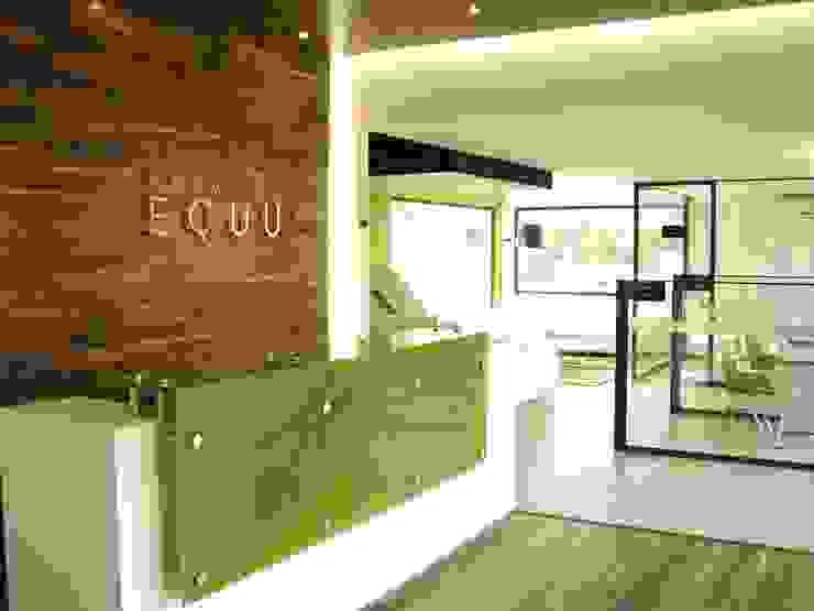 DE LEON PRO Pusat Eksibisi Modern Green