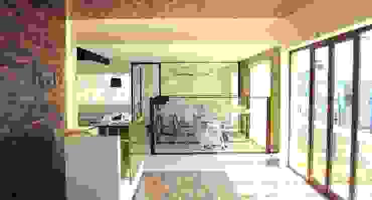 DE LEON PRO Pusat Eksibisi Modern Wood effect