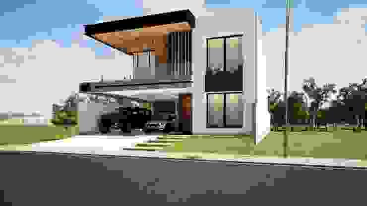 Casas de estilo moderno de Danilo Rodrigues Arquitetura Moderno