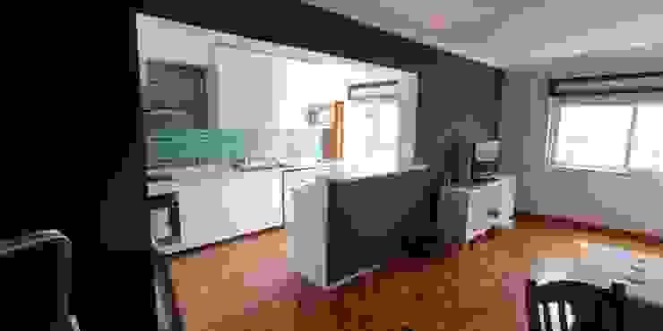 cozinha moderna acabamentos de qualidade, pedras em silestone IIP - Reabilitação e Construção