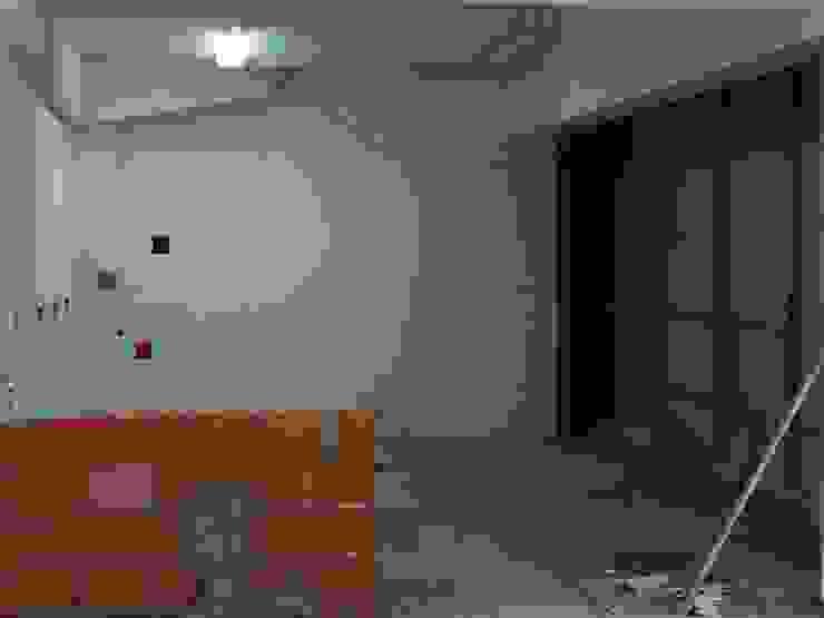 balneários, sanitários e áreas técnicas - início da execução de paredes IIP - Reabilitação e Construção Lojas e Espaços comerciais modernos