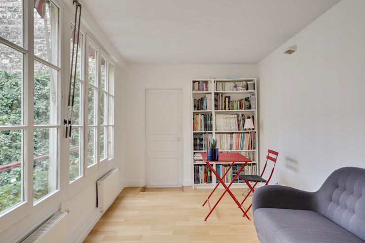 Agence KP Modern study/office Wood White