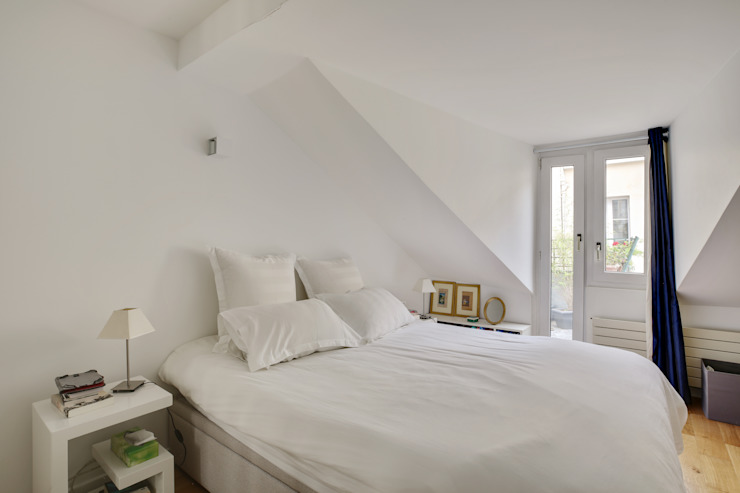 Agence KP Modern style bedroom MDF