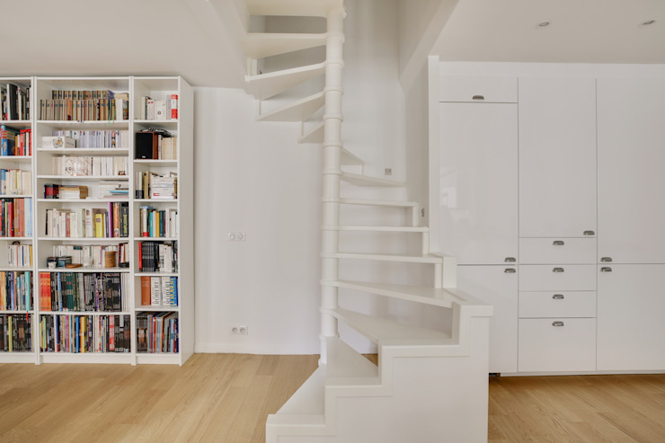 Agence KP Stairs MDF White