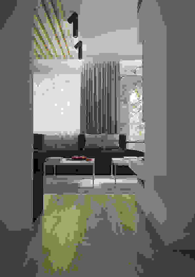 Nevi Studio Livings de estilo moderno Gris