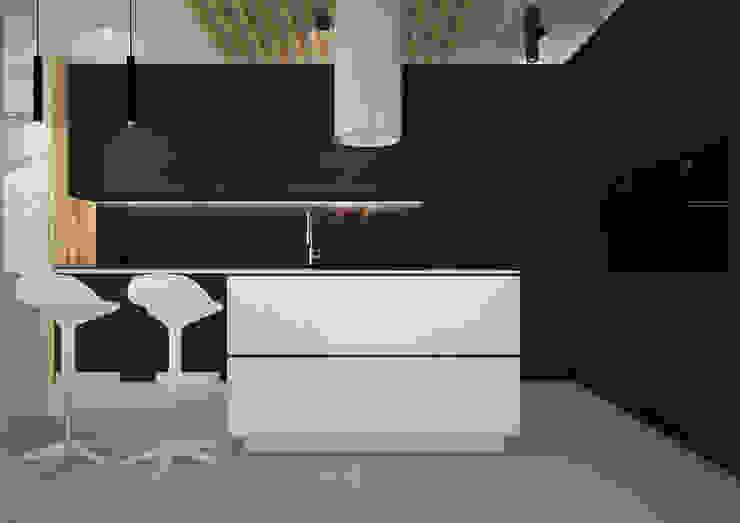 Nevi Studio Cocinas equipadas Negro