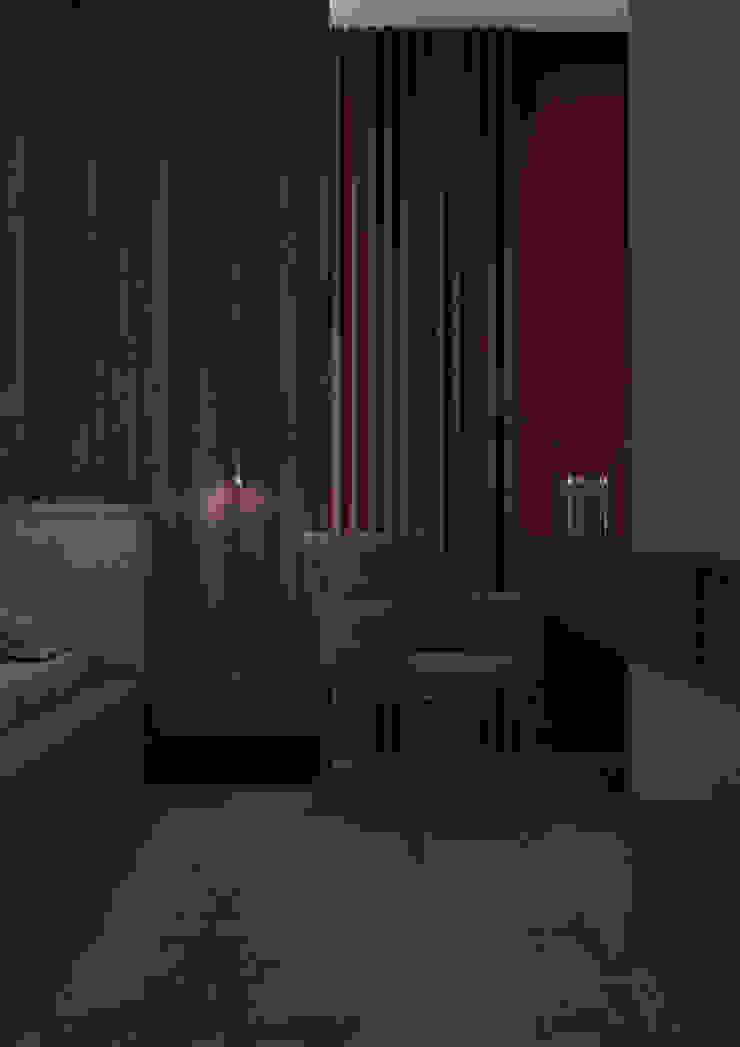 Nevi Studio Dormitorios de estilo moderno Madera Marrón