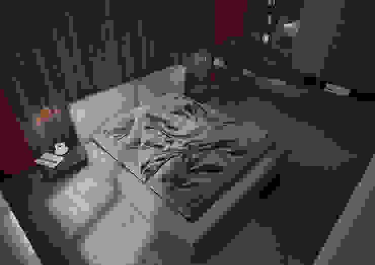 Nevi Studio Dormitorios de estilo moderno Gris