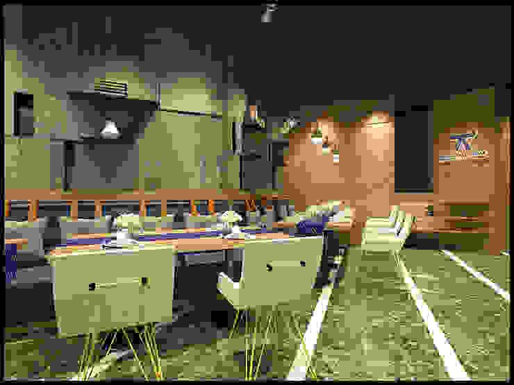 奧蒂牛排館門市室裝設計案 根據 辰居設計園 工業風 木頭 Wood effect