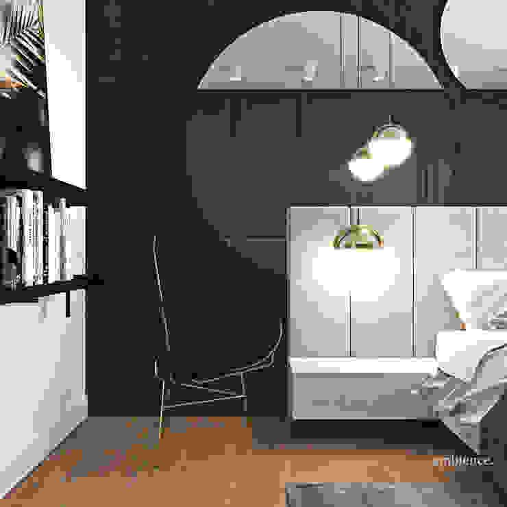Camera da letto moderna di Ambience. Interior Design Moderno