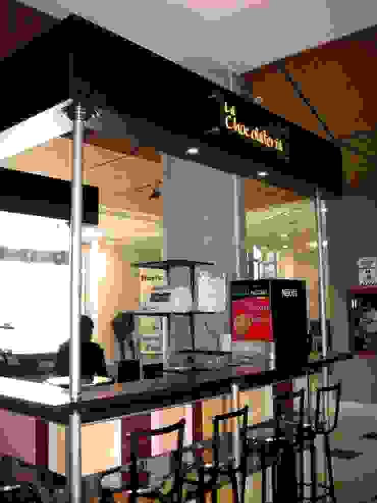 3. DISEÑO PUNTO DE VENTA LA CHOCOLATERÍA Comedores de estilo moderno de Paula Rave design Moderno