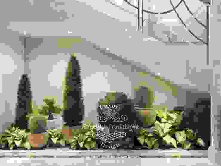 Pasillos, vestíbulos y escaleras de estilo clásico de Дизайн-студия элитных интерьеров Анжелики Прудниковой Clásico