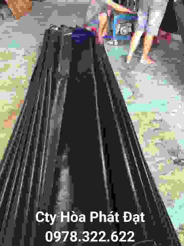 bạt che mưa nắng: hiện đại  by công ty tnhh xd tm hòa phát đạt, Hiện đại Vải lanh / vải lanh Pink