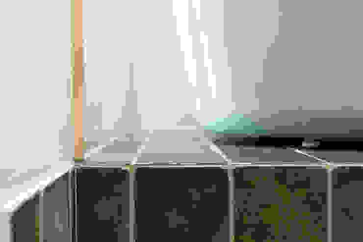 沐遇寵物沙龍 Mu Pet Salon | 寵物沐浴區 有隅空間規劃所 Commercial Spaces Tiles Green
