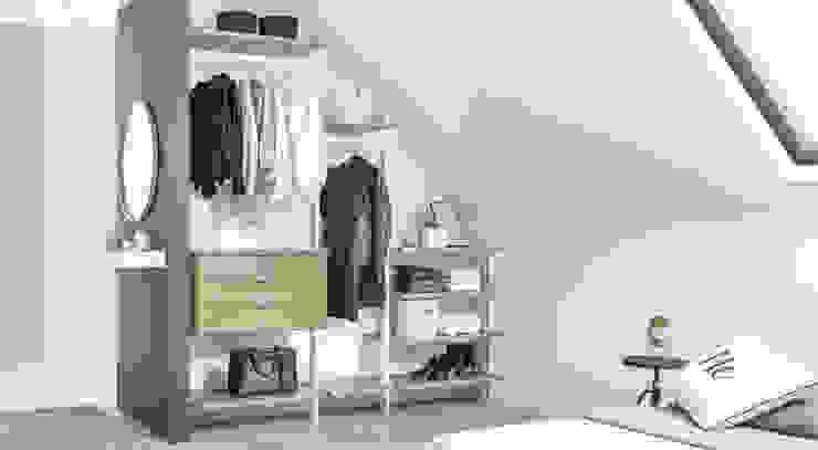 Modern Dressing Room by Regalraum GmbH Modern Aluminium/Zinc