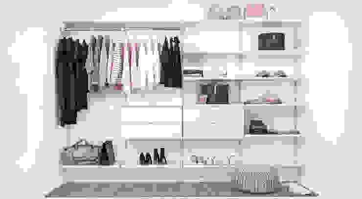 Modern Dressing Room by Regalraum GmbH Modern Metal