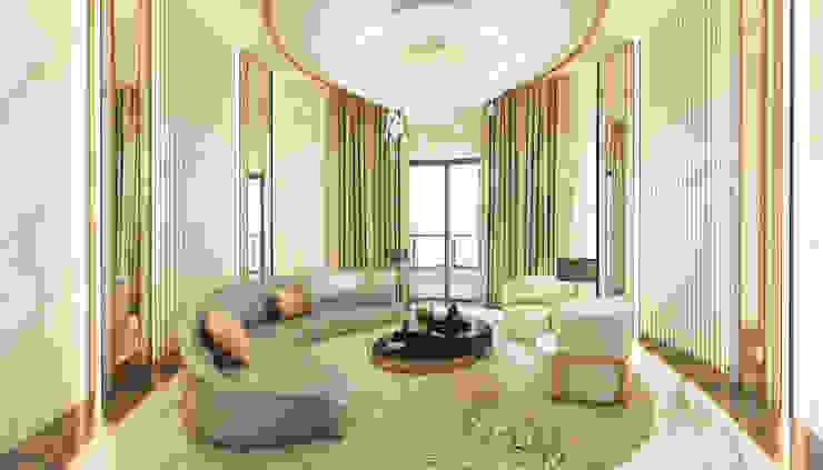 D'Rapport Penthouse by YJ Design Studio Modern