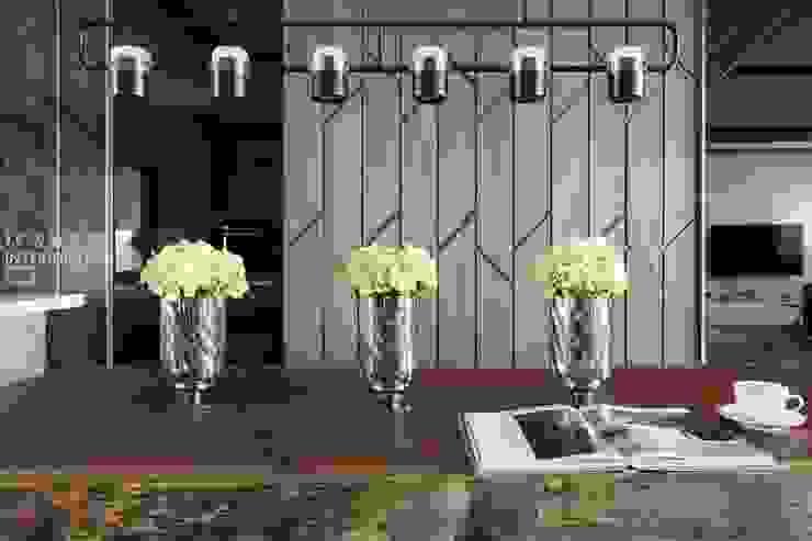 天晴空間設計│住宅空間│若山牧水‧嵐彩。 Modern Dining Room by 天晴空間設計 Modern Solid Wood Multicolored