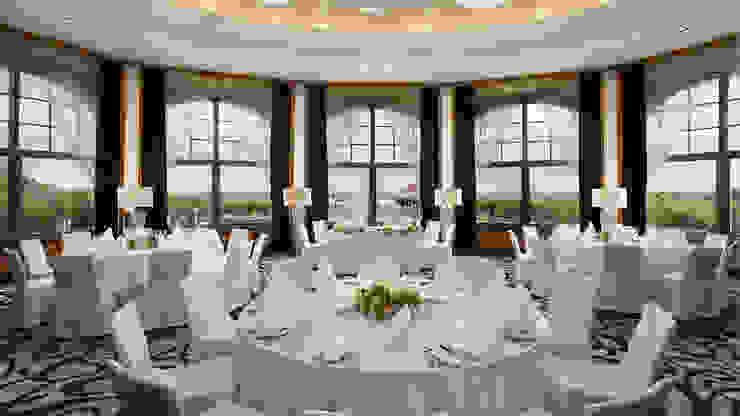 Ferreira de Sá Tropical style dining room
