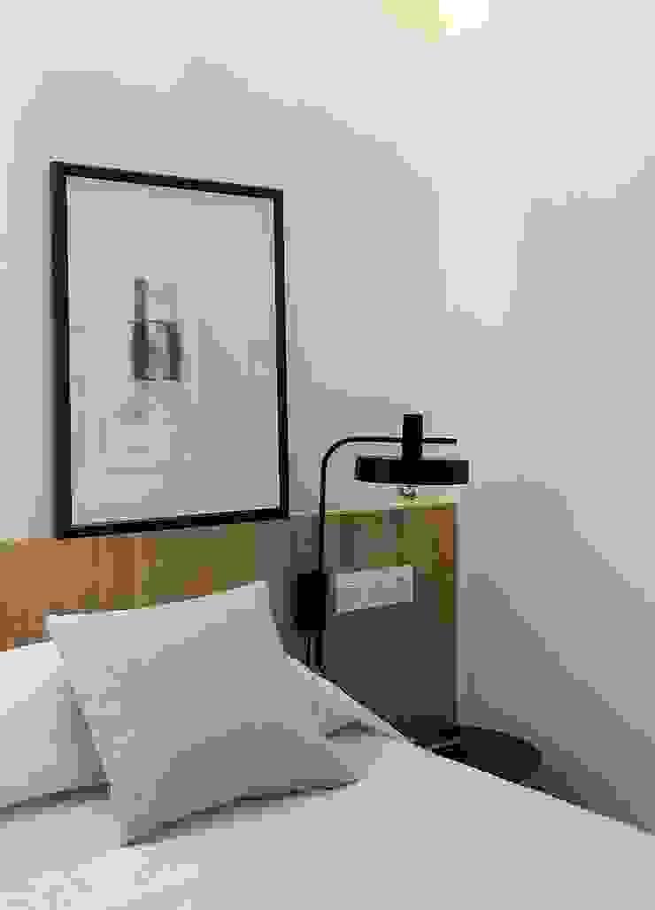 Detalle de dormitorio principal MANUEL GARCÍA ASOCIADOS Dormitorios de estilo moderno