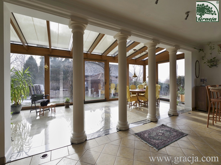 GRACJA SP. Z O.O. Jardin d'hiver classique Bois