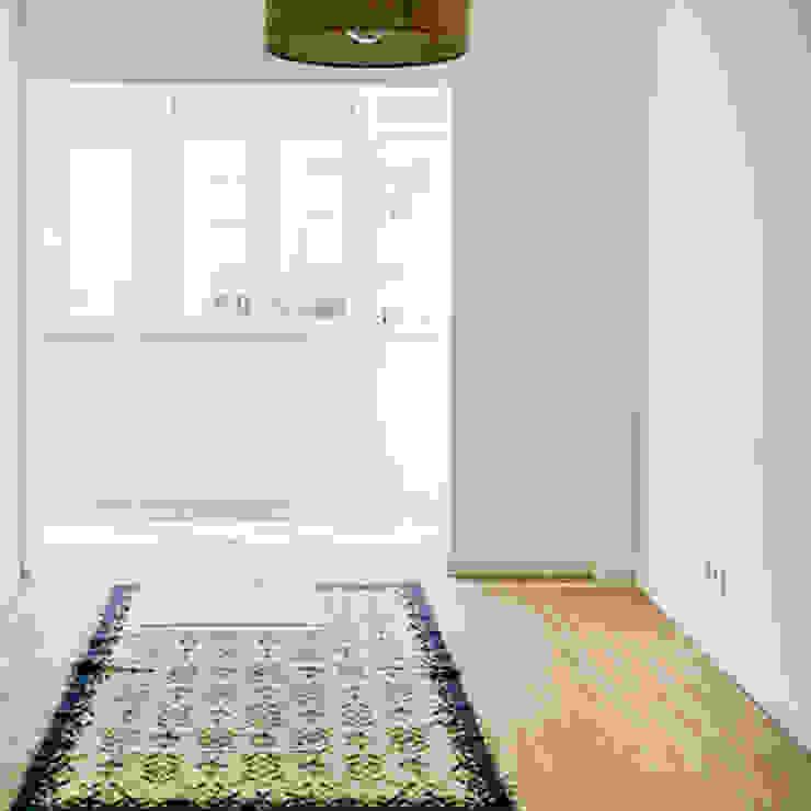 Decor-in, Lda Scandinavian style living room Wood