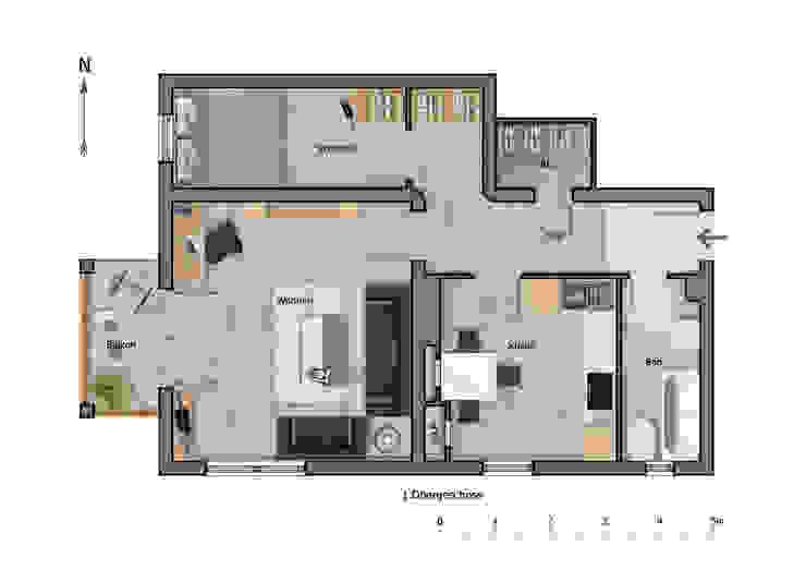 2D Grundrisse für Immobilienprofis von NK-Line