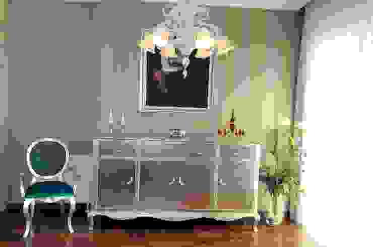 Swan Konsol Klasik Oturma Odası LAMONETA DESIGN & PRODUCTION Klasik Masif Ahşap Rengarenk