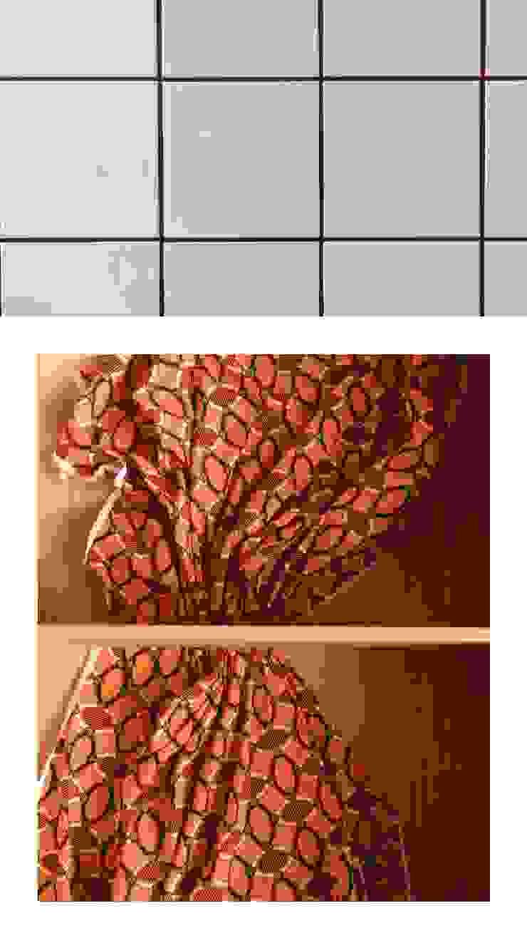 Rafaela Fraga Brás Design de Interiores & Homestyling Espaces commerciaux originaux MDF Rouge