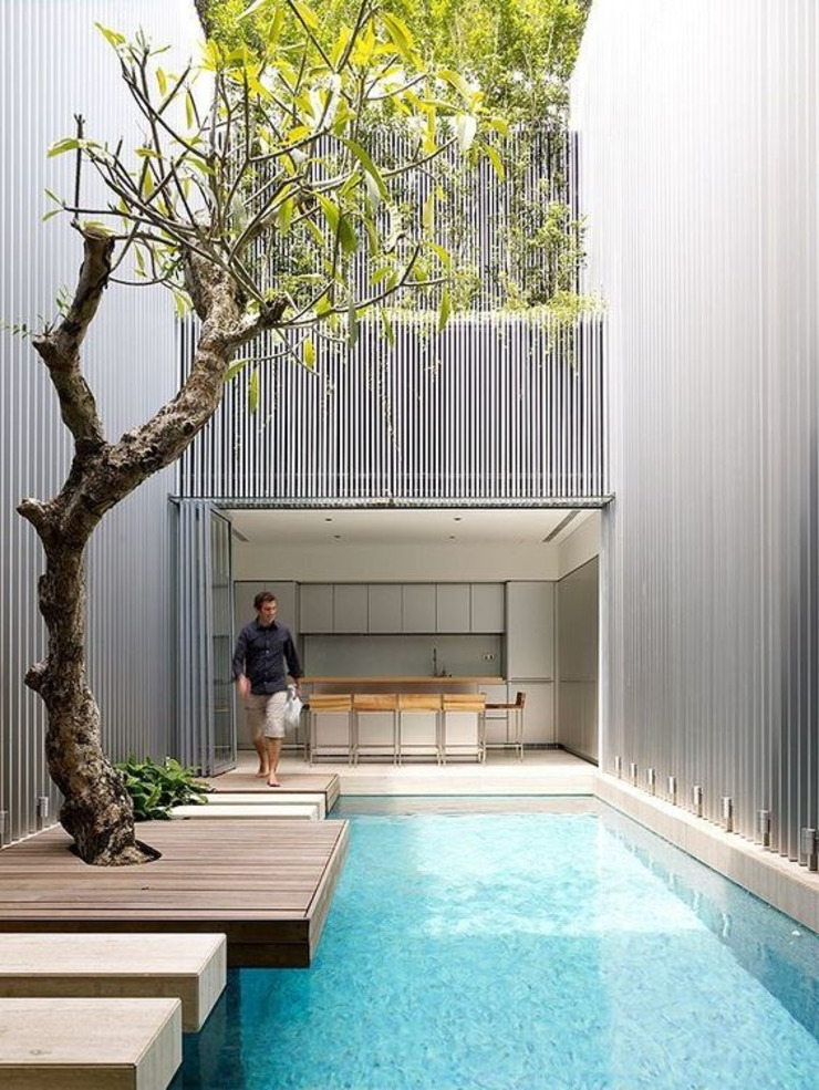 thiết kế bể bơi من vnpool