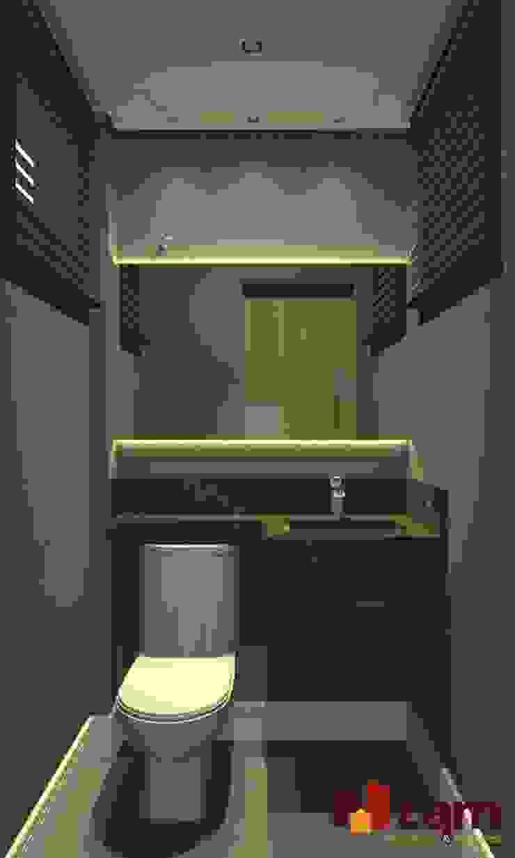 Escritório Pet Shop - Dogs Day Banheiros modernos por LAM Arquitetura | Interiores Moderno