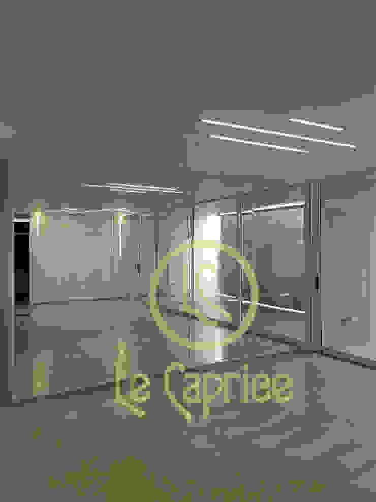 Diseño de iluminación perfiles Comedores de estilo minimalista de Le Caprice Minimalista Aluminio/Cinc