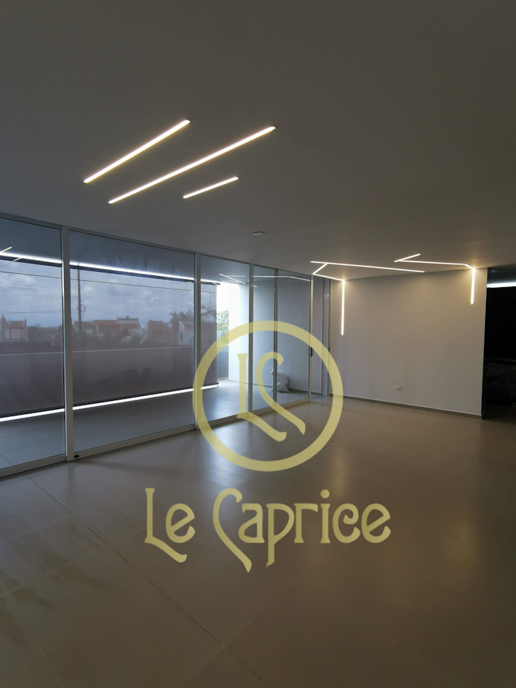 Diseño de iluminación perfiles de Le Caprice Minimalista Aluminio/Cinc