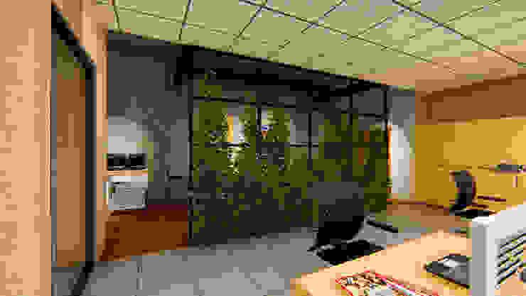 Ofis Çalışma Alanından Bir Kesit G Küp İç Mimarlık ve Tasarım Atölyesi Endüstriyel