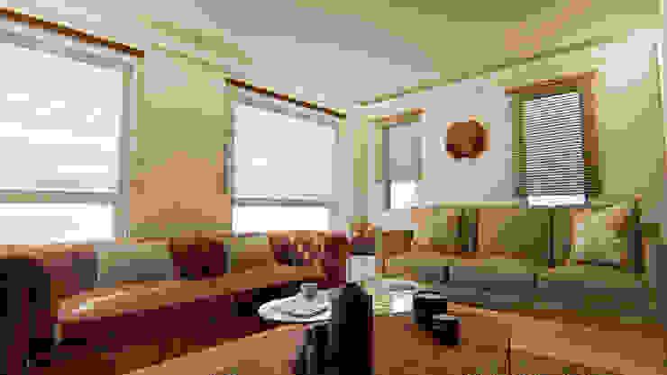 Oturma Odası Minimalist Oturma Odası G Küp İç Mimarlık ve Tasarım Atölyesi Minimalist