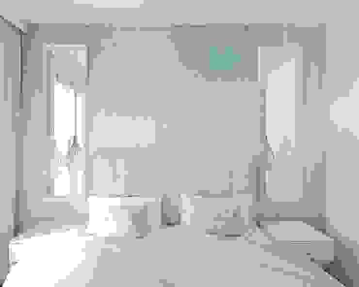 Anna Freier Architektura Wnętrz Small bedroom