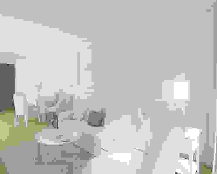 Anna Freier Architektura Wnętrz Classic style living room
