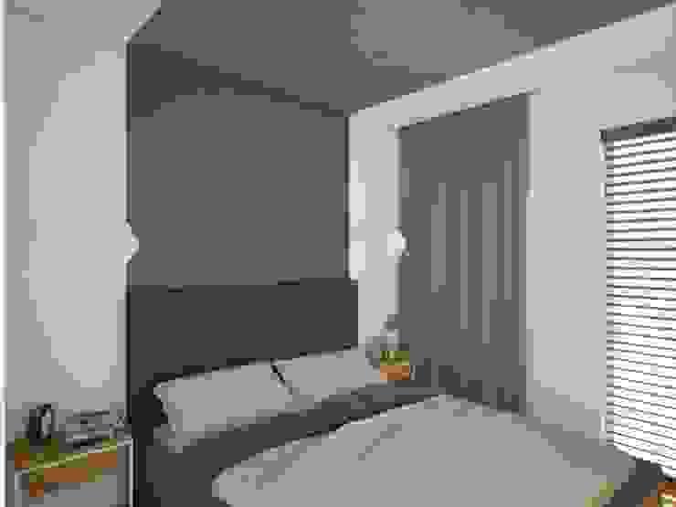 Anna Freier Architektura Wnętrz Minimalist living room Grey