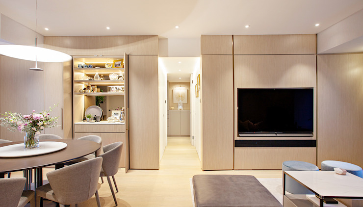 modern  by HOUSE OF BUTLER, Modern Wood Wood effect