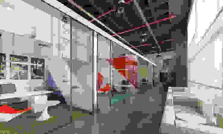 TMA Mimarlık Industrial style office buildings